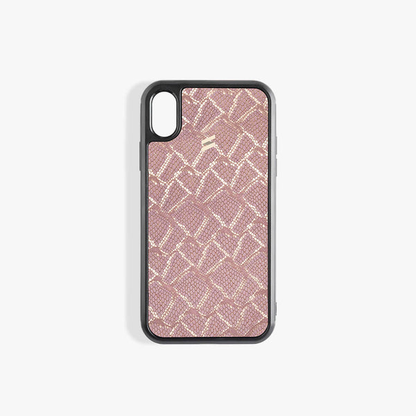 Coque iPhone Xs Paris Pink