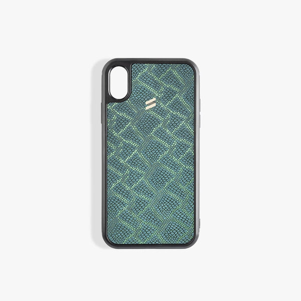 Coque iPhone X Paris Green