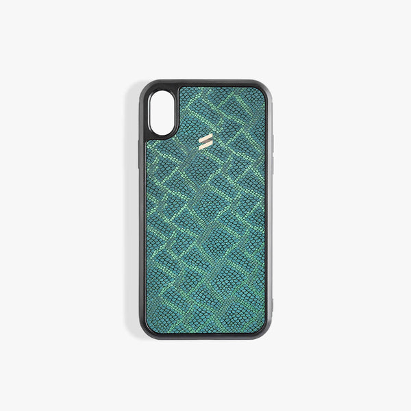 iPhone Xs Case Paris Green