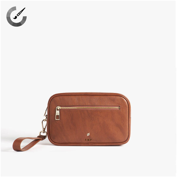 Clutch Corteccia Brown