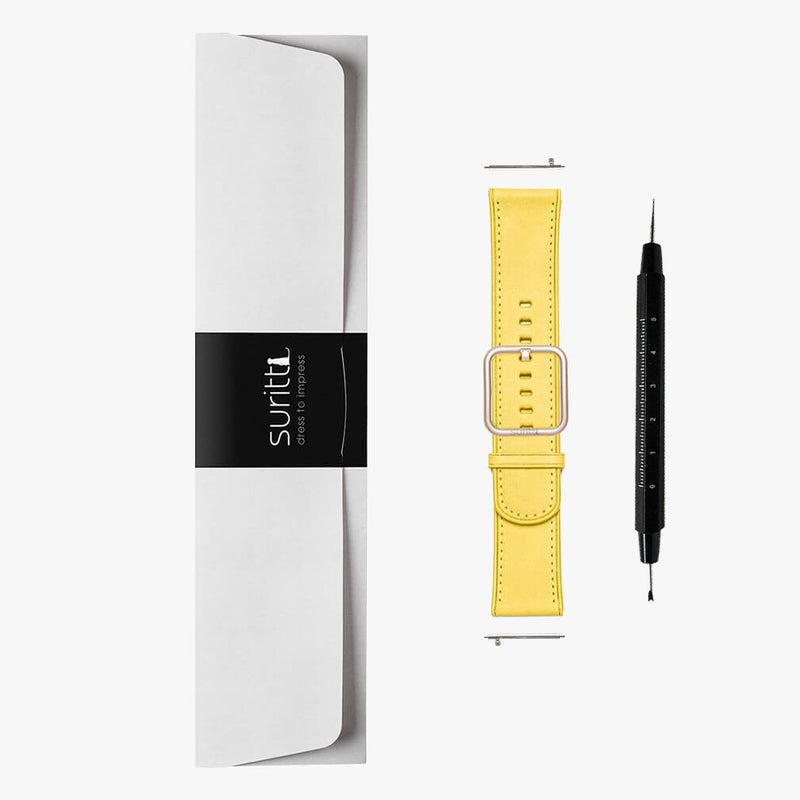 Watch Strap Rio Yellow