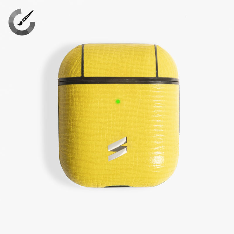 FUNDA AIRPODS CORTECCIA YELLOW