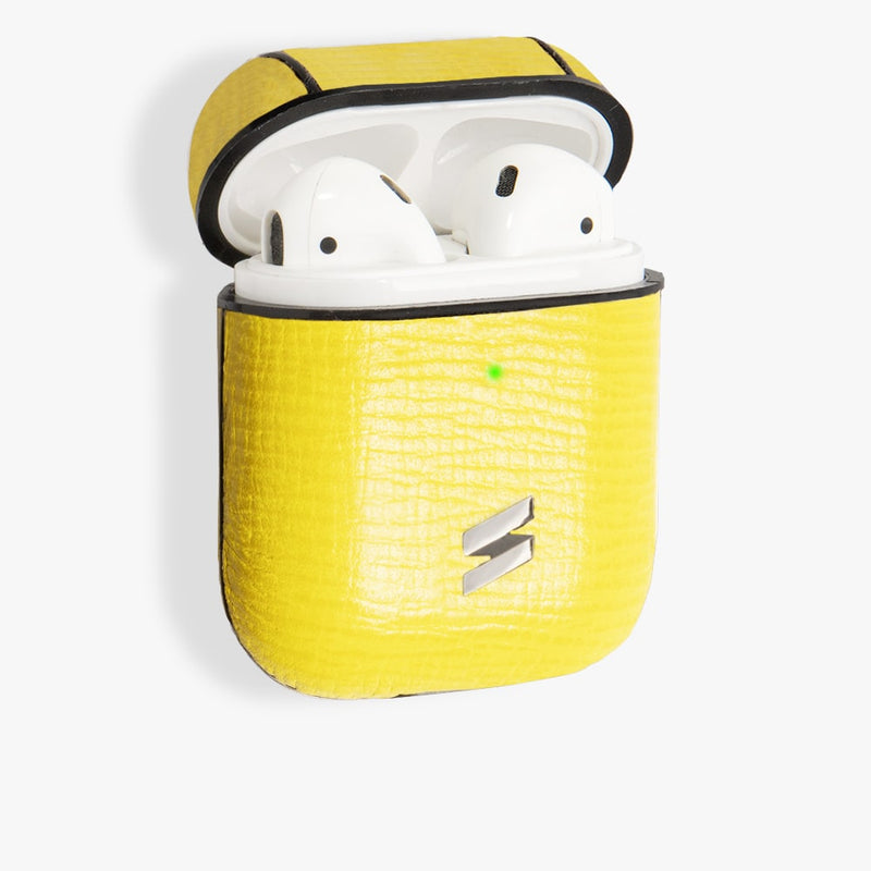 Gift Pack Airpods + Coin Card Corteccia Yellow