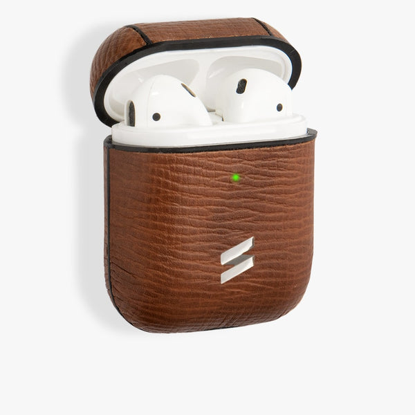 Coque Airpods Corteccia Brown