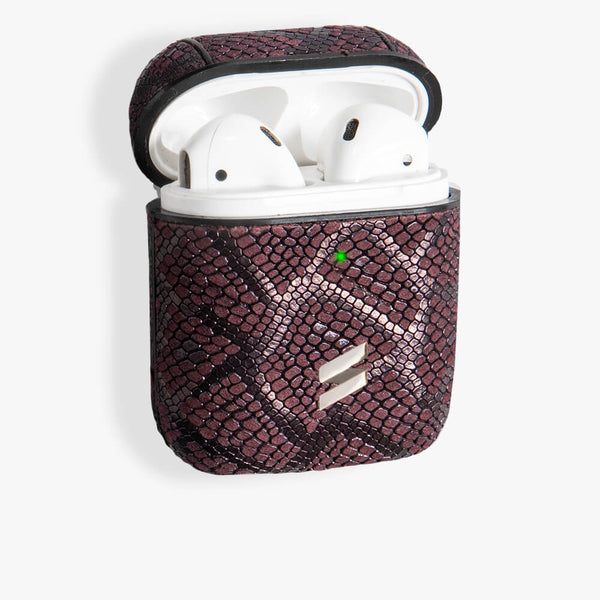 Coque AirPods Paris Burgundy