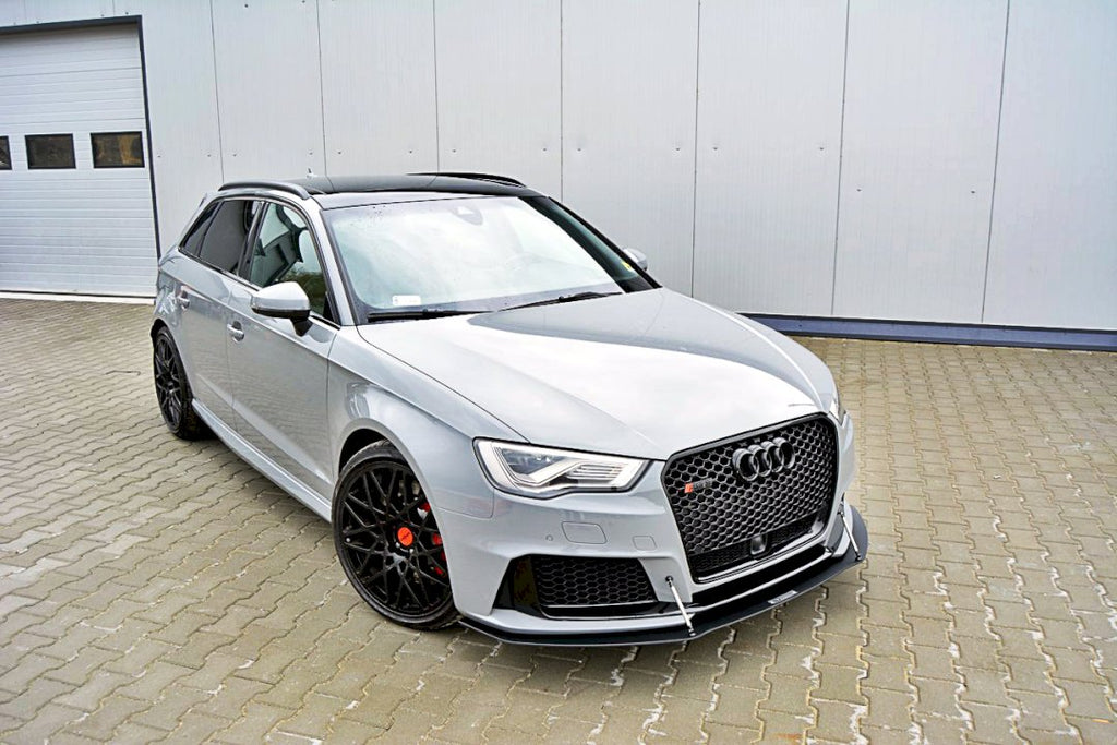 FRONT RACING SPLITTER AUDI RS3 8VA SPORTBACK PRE-FACELIFT - Car Enhancements UK