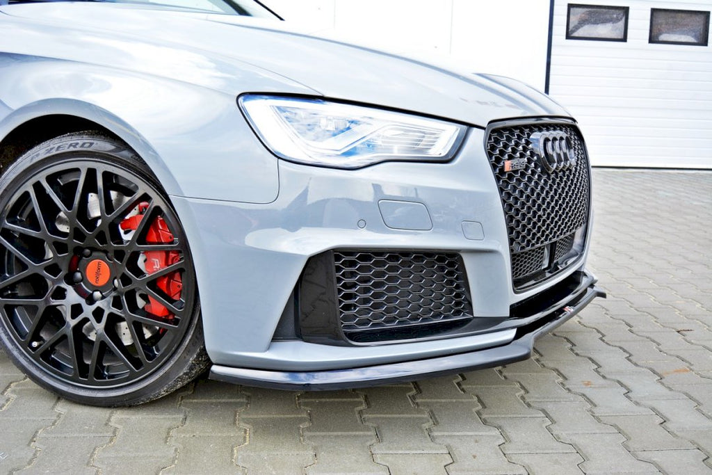 FRONT SPLITTER V.1 AUDI RS3 8VA SPORTBACK PRE-FACELIFT (2015-2016) - Car Enhancements UK