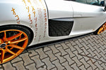 SIDE SKIRTS DIFFUSERS AUDI R8 2006 - 2015 - Car Enhancements UK