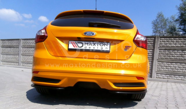 REAR SIDE SPLITTERS FORD FOCUS MK3 ST PREFACE MODEL