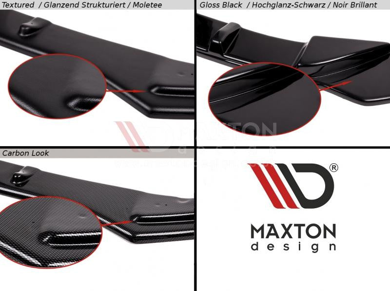REAR SIDE SPLITTERS FORD FOCUS MK2 ST PREFACE MODEL FITS WITH MAXTON REAR VALANCE - Car Enhancements UK
