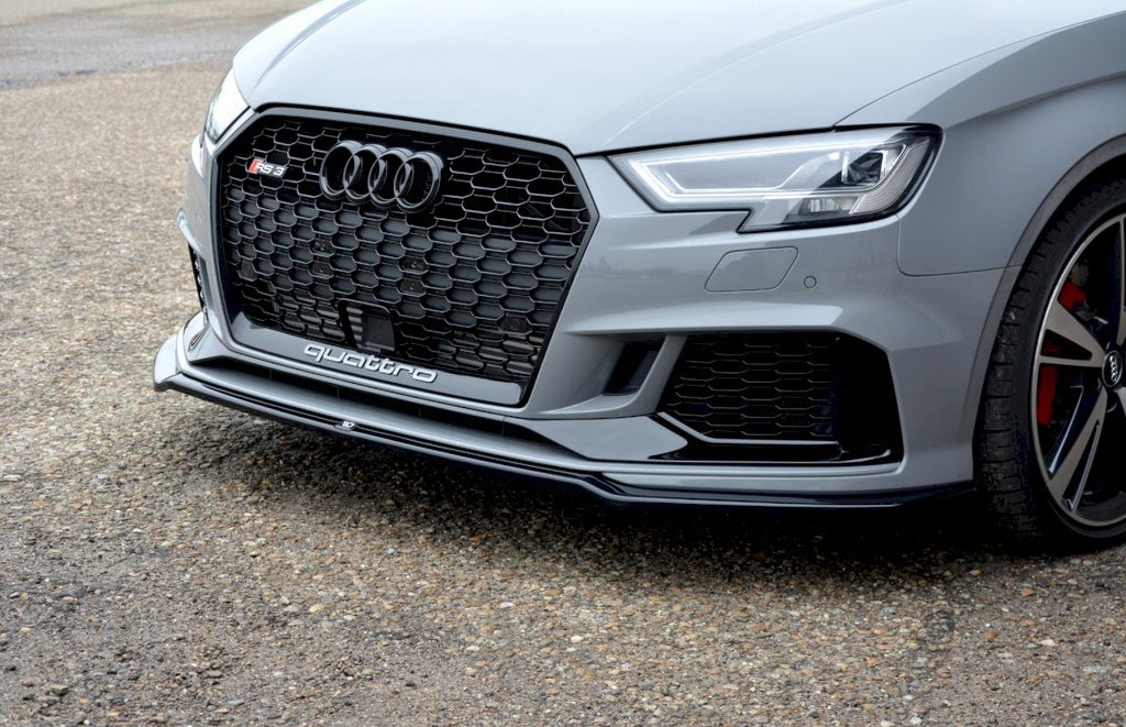 FRONT SPLITTER V.2 AUDI RS3 8V FACELIFT SEDAN (2017-20) - Car Enhancements UK