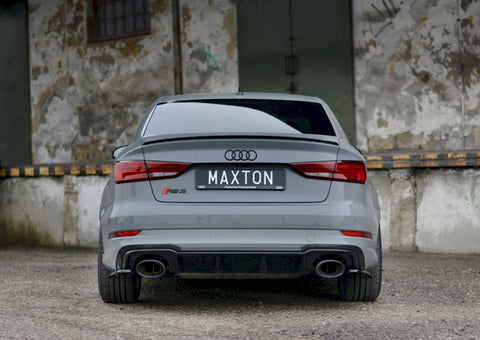 REAR SIDE SPLITTERS AUDI RS3 8V FACELIFT SEDAN (2017-20) - Car Enhancements UK