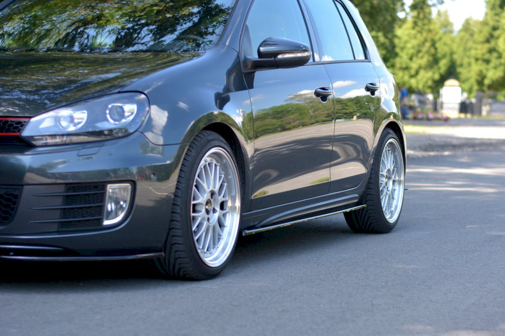 SIDE SKIRTS DIFFUSERS VW GOLF MK6 GTI/ GTD (2008-2012)