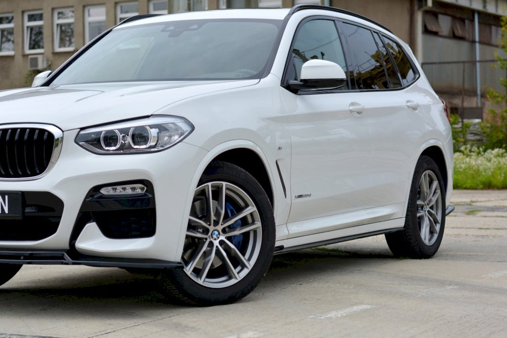 SIDE SKIRTS DIFFUSERS BMW X3 G01 M-PACK (2018-UP)