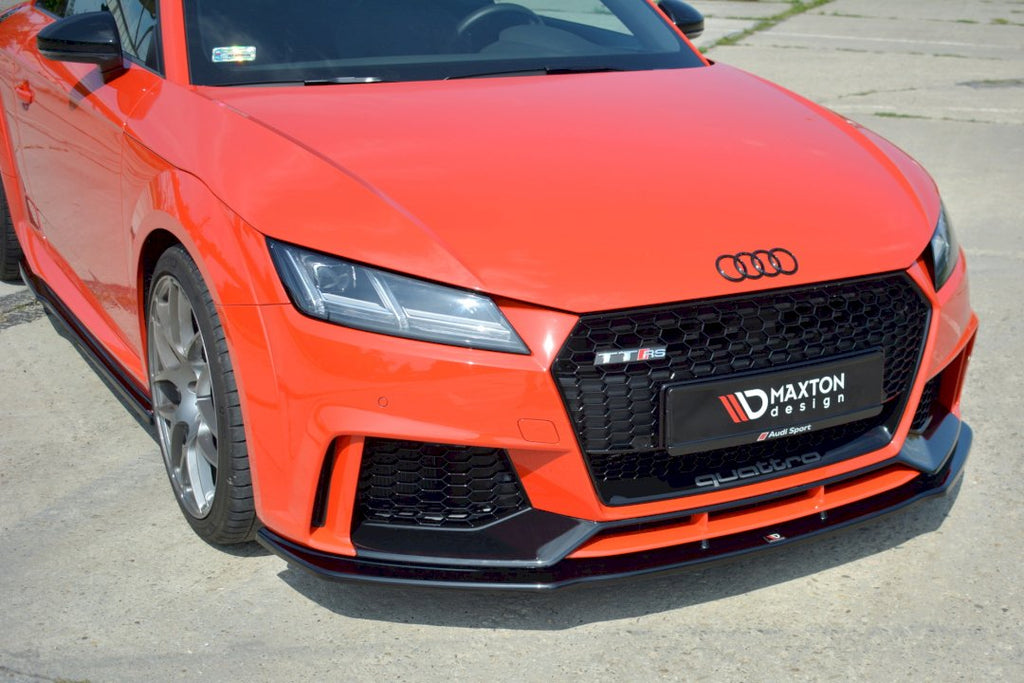 FRONT SPLITTER V.1 AUDI TT MK3 (8S) RS (2016-UP) - Car Enhancements UK