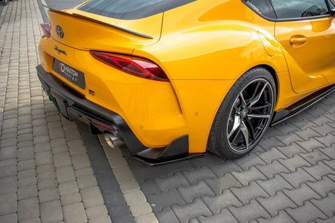 REAR SIDE SPLITTERS V.1 TOYOTA SUPRA MK5 (2019-) - Car Enhancements UK