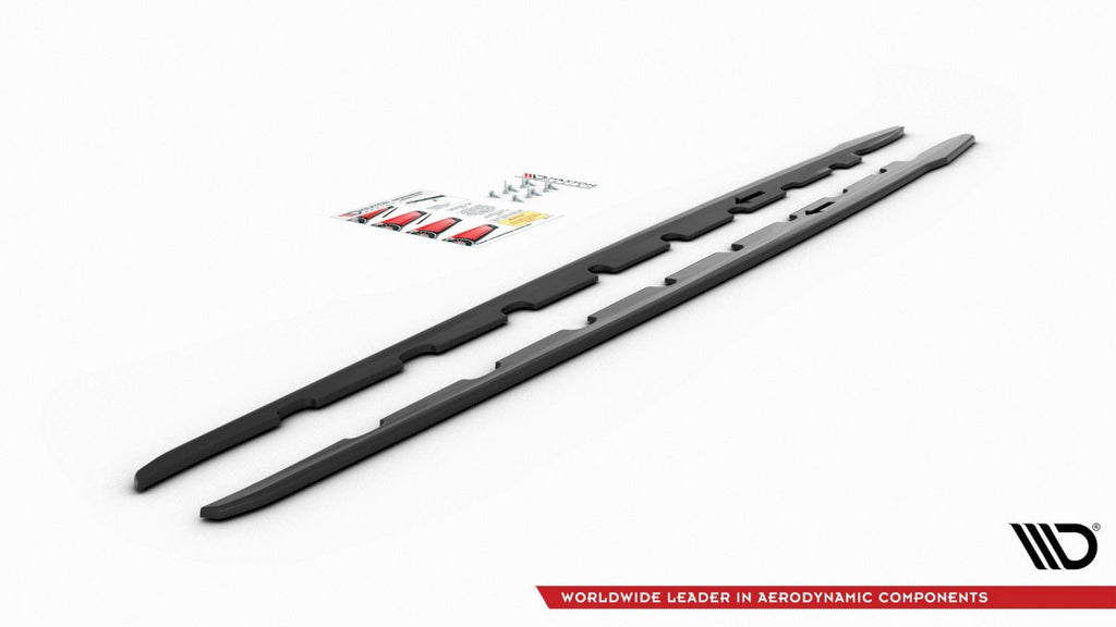 SIDE SKIRTS DIFFUSERS V2 BMW 1 SERIES F40 M135I /M-SPORT (2019-) - Car Enhancements UK
