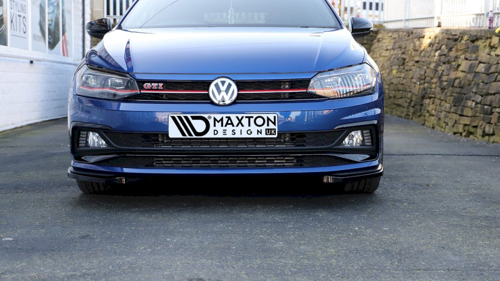 FRONT SPLITTER V.5 VW POLO MK6 GTI (2017-UP)
