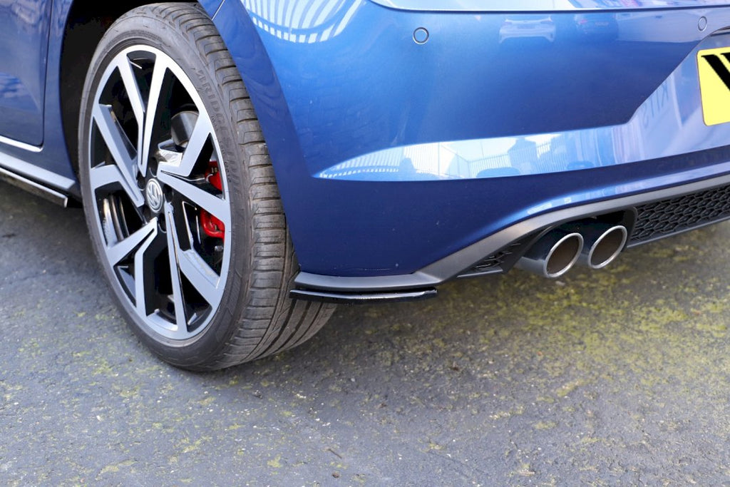 REAR SIDE SPLITTERS VW POLO MK6 GTI (2017-)