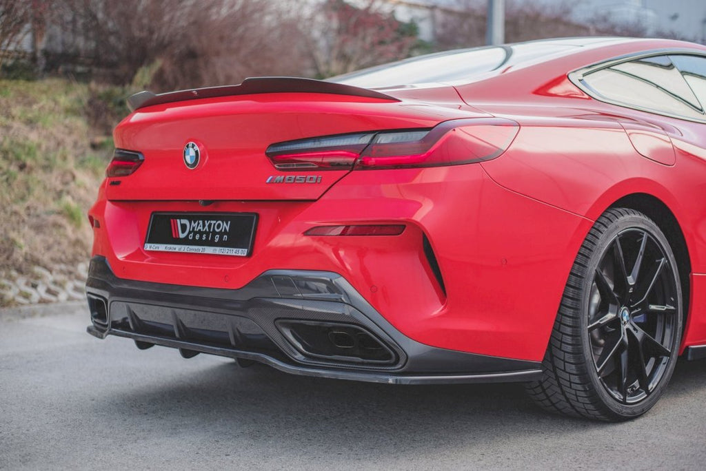 CENTRAL REAR SPLITTER (WITH VERTICAL BARS) BMW M850I G15 (2018-)