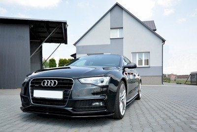 FRONT SPLITTER V.1 AUDI S5 / A5 S-LINE 8T (FACELIFT) (2011-2016) - Car Enhancements UK