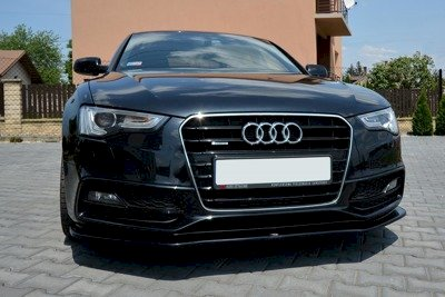 FRONT SPLITTER V.2 AUDI S5 / A5 S-LINE 8T FACELIFT (2011-2016) - Car Enhancements UK