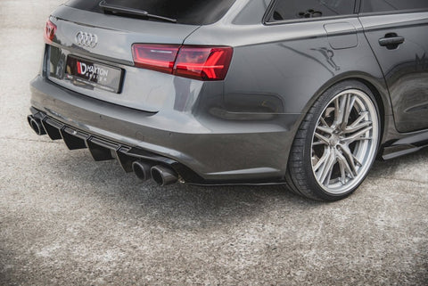 REAR SIDE DIFFUSERS AUDI S6/ A6 S-LINE C7 FACELIFT - Car Enhancements UK