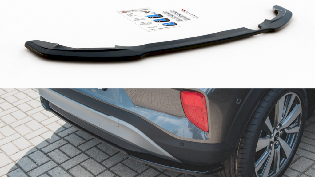 CENTRAL REAR SPLITTER FORD PUMA STANDARD (2019-) - Car Enhancements UK