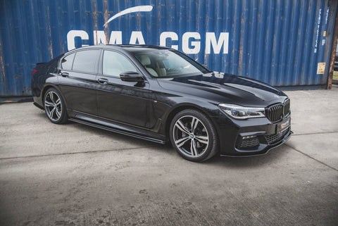 SIDE SKIRTS DIFFUSERS BMW 7 M-PACK G11 (2015-2018) - Car Enhancements UK