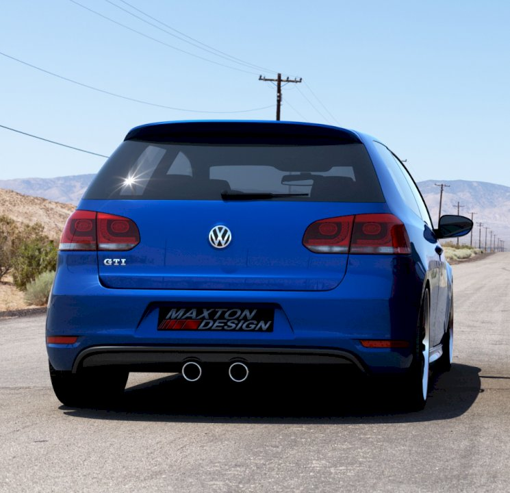REAR VALANCE VW GOLF V R32 LOOK FOR VW GOLF VI GTI