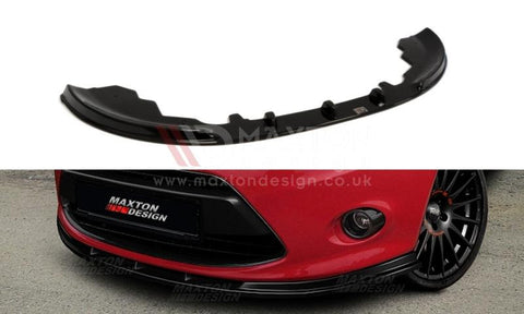 FRONT SPLITTER FORD FIESTA MK7 STANDARD - Car Enhancements UK