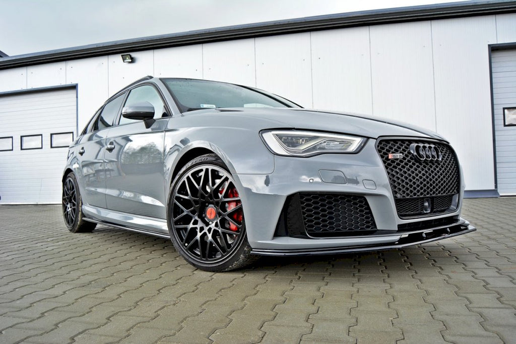 FRONT SPLITTER V.2 AUDI RS3 8VA SPORTBACK PRE-FACELIFT (2015-2016) - Car Enhancements UK
