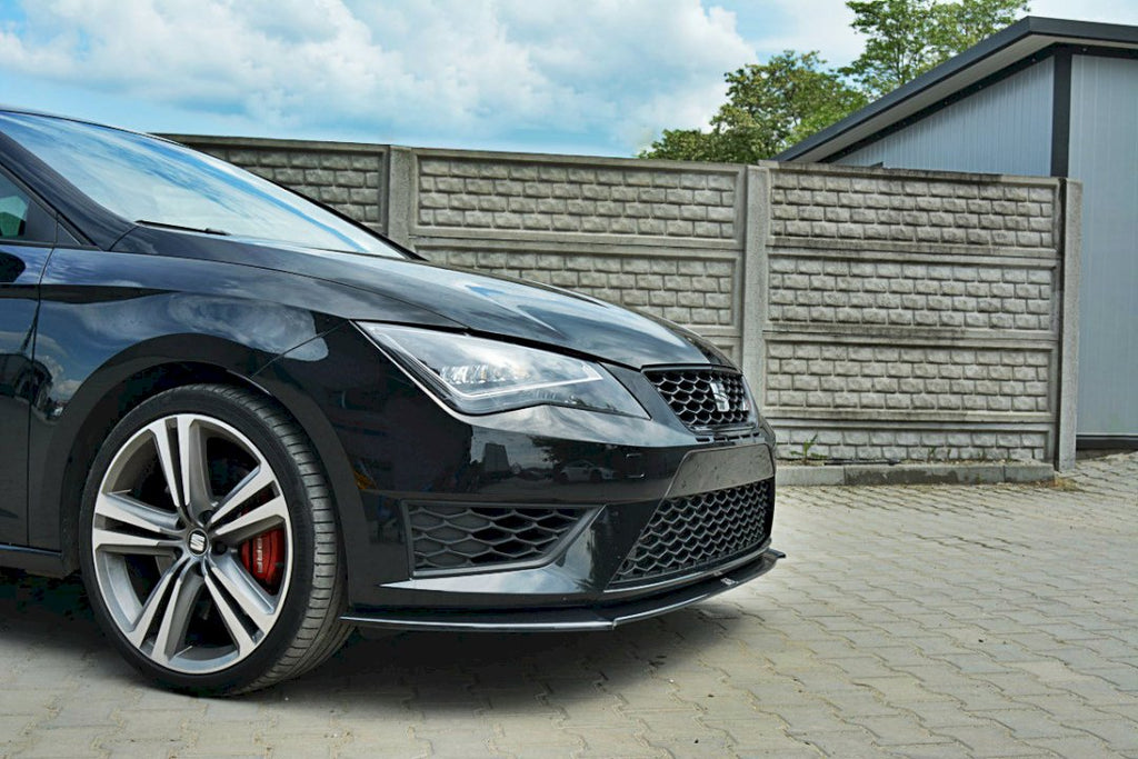 FRONT SPLITTER SEAT LEON III CUPRA / FR - Car Enhancements UK