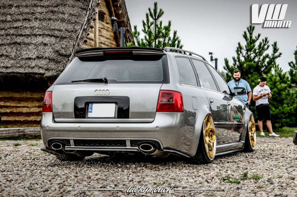 REAR SIDE SPLITTERS AUDI RS6 C5 AVANT