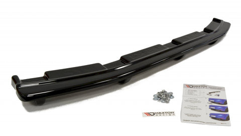 CENTRAL REAR SPLITTER MAZDA 3 MK2 MPS (WITH VERTICAL BARS) - Car Enhancements UK