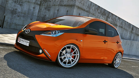 FRONT SPLITTER TOYOTA AYGO MK2 - Car Enhancements UK