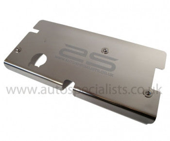 Zetec 1.25 & 1.4 LTR Mirror finish stainless steel Camshaft cover with logo - Car Enhancements UK