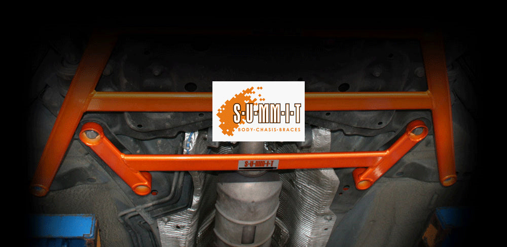SUMMIT Focus Mk2 & MK3 RS & ST Lower front middle 4 point chassis to subframe - Car Enhancements UK