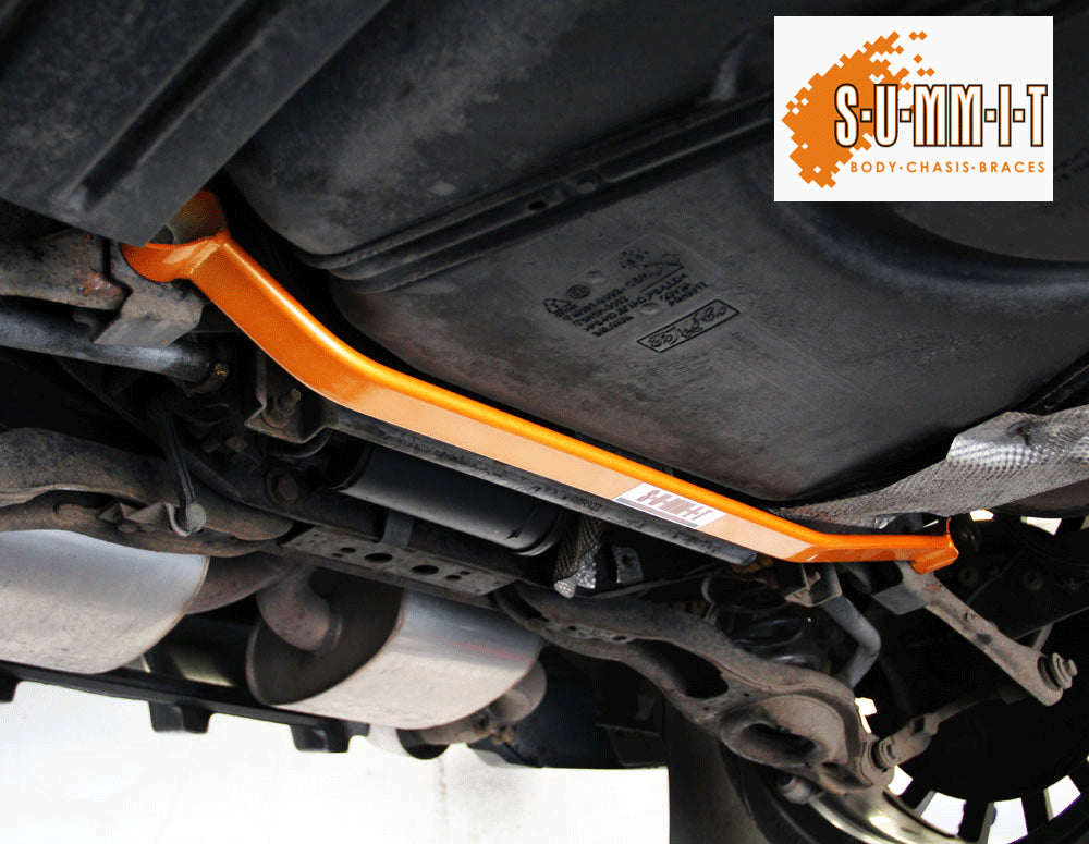 SUMMIT Focus Mk2 & Mk3 RS & ST Lower rear 2 point sub-frame to tie bar strengthening brace - Car Enhancements UK