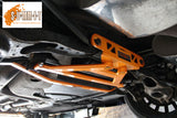 SUMMIT Focus Mk2 RS & ST Lower rear 4 point 2 subframe X brace - Car Enhancements UK