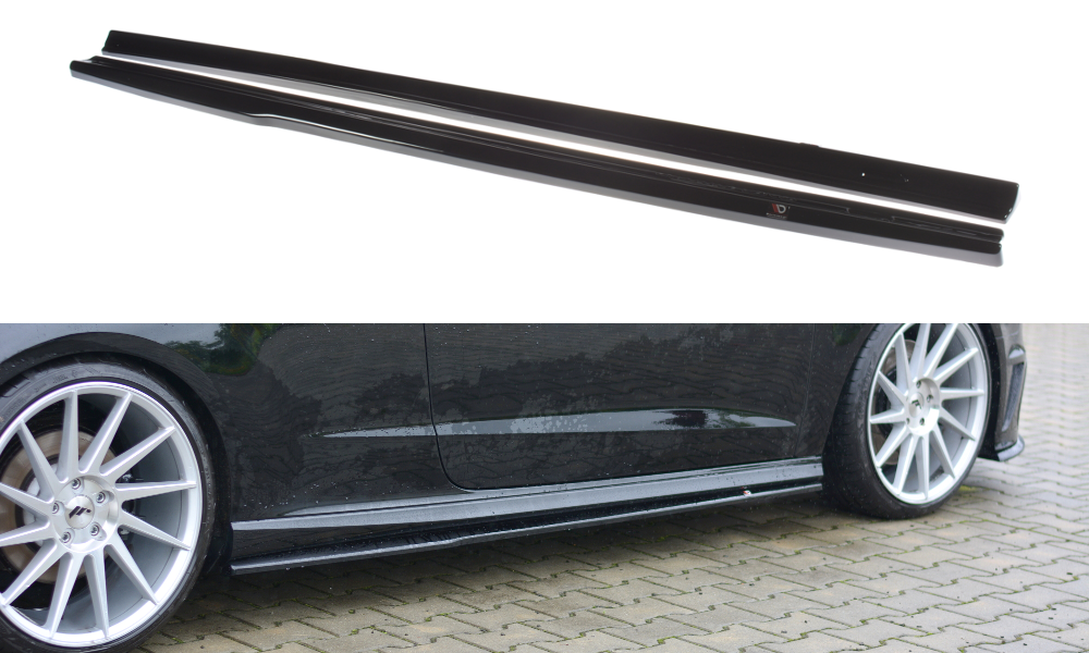 SIDE SKIRTS DIFFUSERS AUDI S3 8V/A3 8V SLINE (3 DOOR)