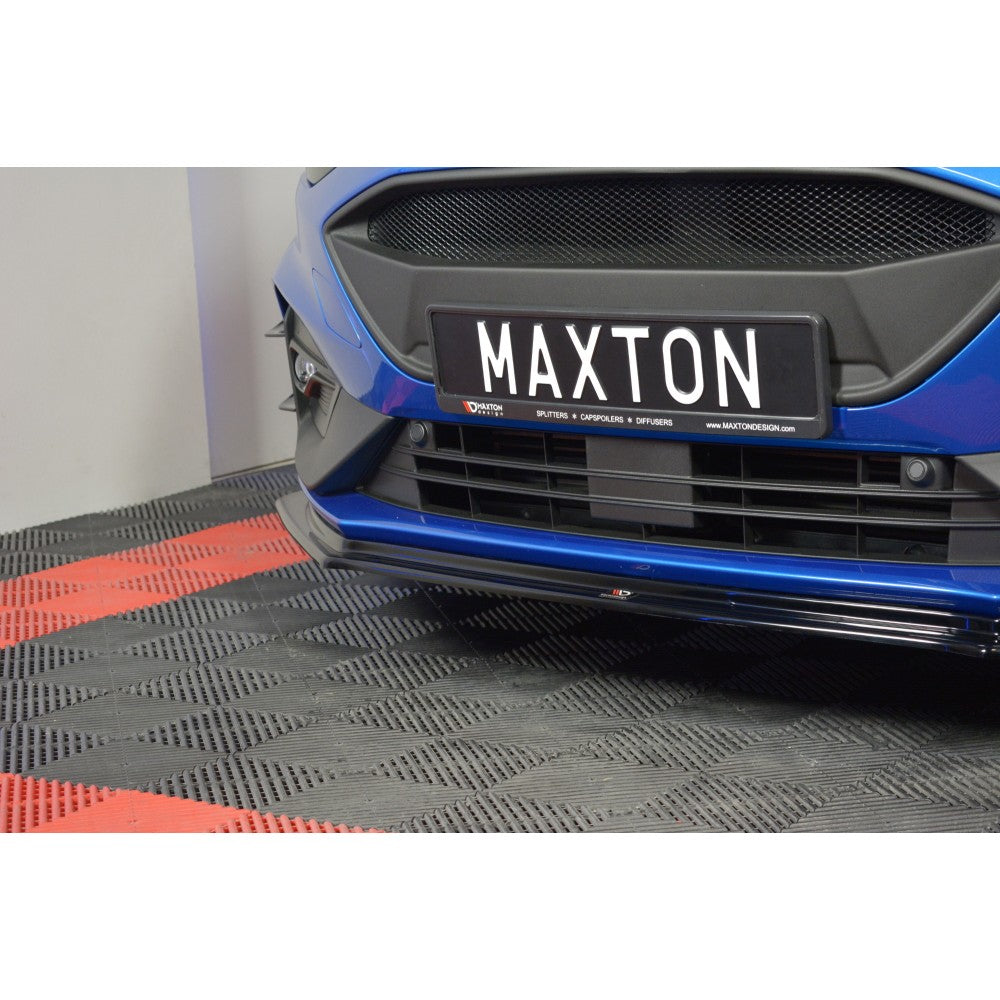 Maxton Design Ford focus MK4 ST-Line (2018-UP) Front splitter V.5
