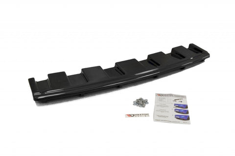 CENTRAL REAR SPLITTER AUDI S6 C7 AVANT (WITH VERTICAL BARS) - Car Enhancements UK