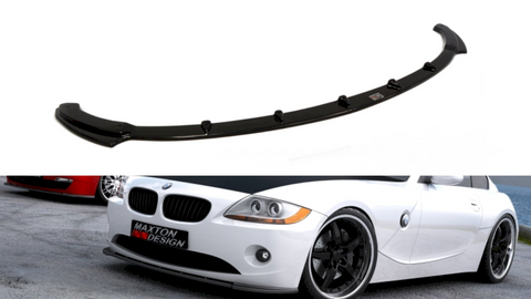 FRONT SPLITTER V.1 BMW Z4 E85 / E86 (PREFACE MODEL) - Car Enhancements UK