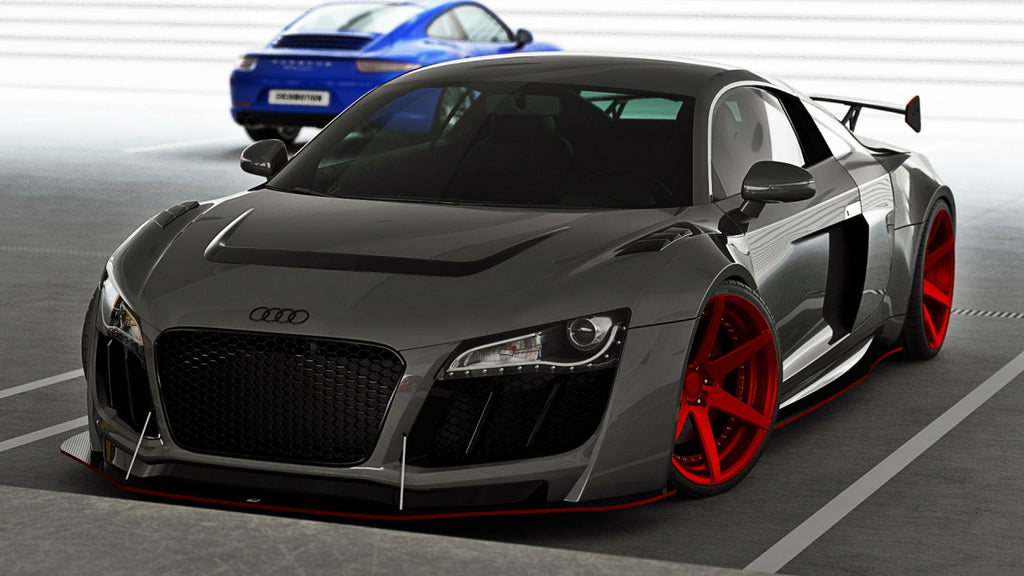 FRONT BUMPER AUDI R8 I - Car Enhancements UK