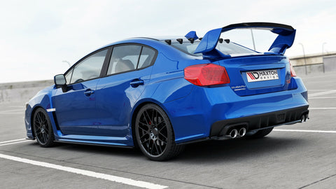 CENTRAL REAR SPLITTER SUBARU WRX STI - Car Enhancements UK