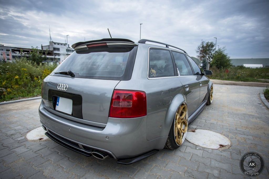 CENTRAL REAR SPLITTER AUDI RS6 C5 AVANT