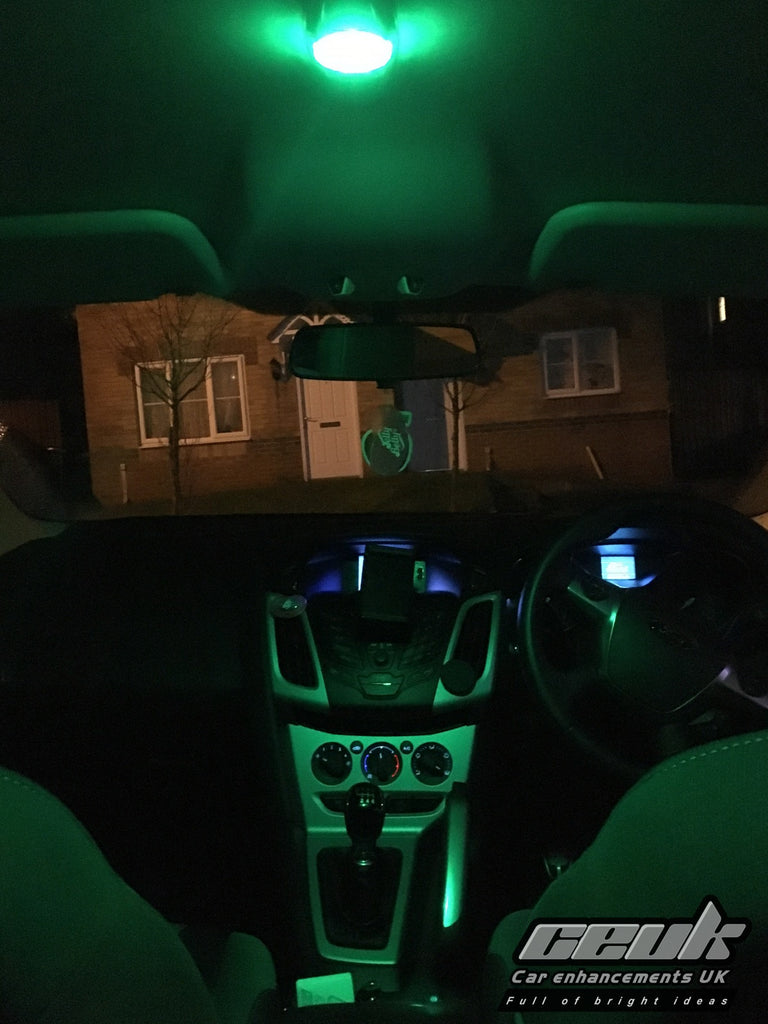 BriteVue 501 Interior Bulb - Green - Car Enhancements UK