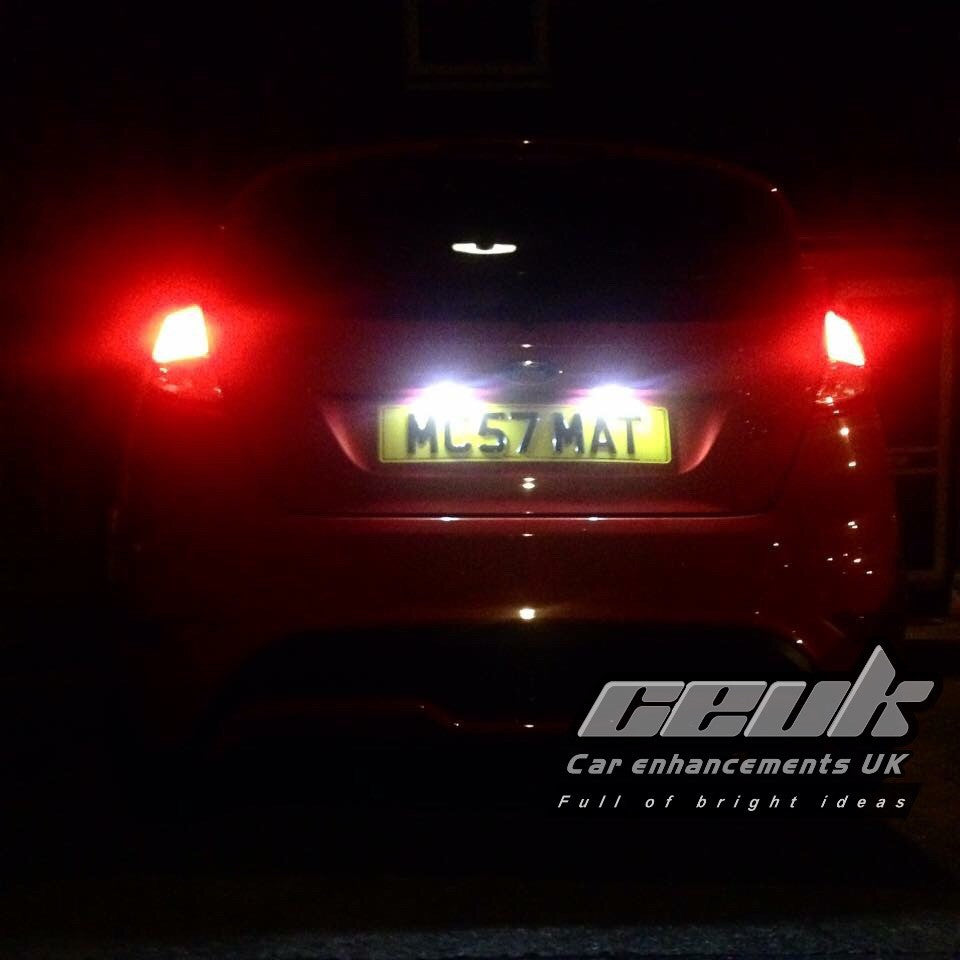 BriteVue 501 Number Plate Bulb Upgrade - Car Enhancements UK