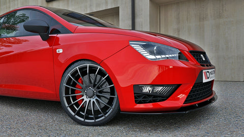 FRONT SPLITTER SEAT IBIZA IV CUPRA (6J) FACELIFT - Car Enhancements UK